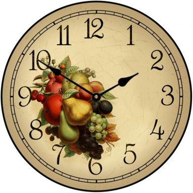 Cornicopia Clock