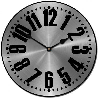 Heavy Metal 3 Clock
