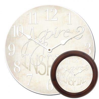 Aspire 2 Inspire White Clock mix