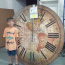 large map clock