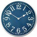Colonial Blue Clock