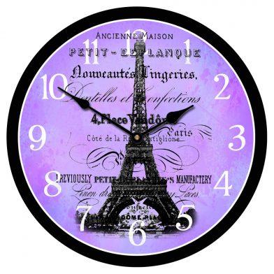 Paris Love Clock