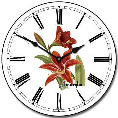 Amarylis Clock