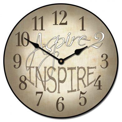 Aspire 2 Inspire Clock