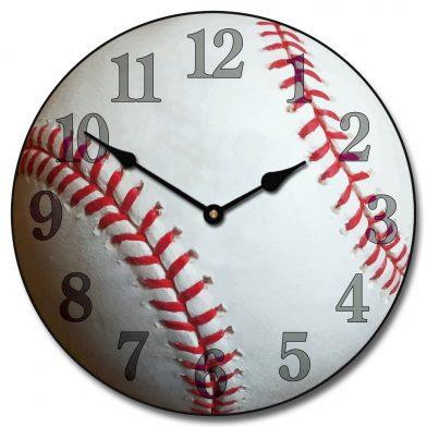 Baseball 4 Clock