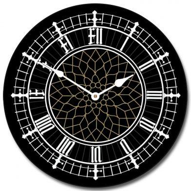 Big Ben Black Clock