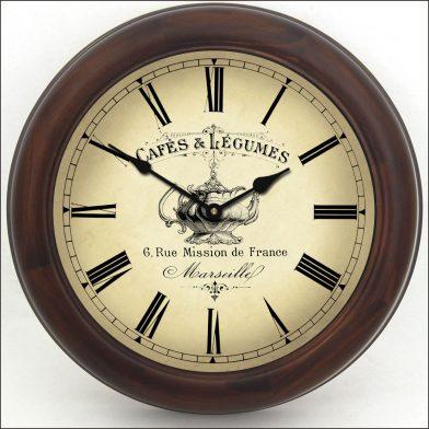 Cafe Clock brn frm