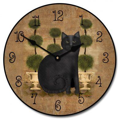 Feline Time Clock