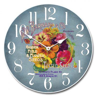 Garden Seeds 2 Clock