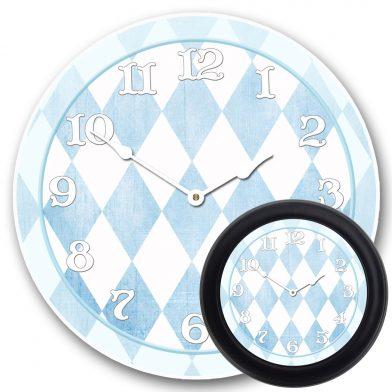 Harlequin Blue Clock mix