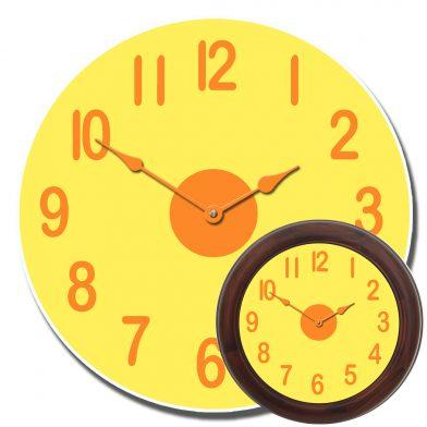 Lemon Twist Clock  mix