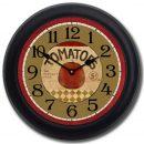 Tomato Clock blk frm