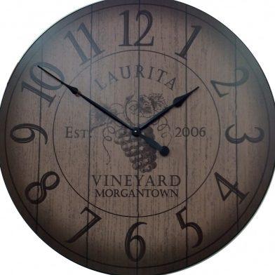 wine barrel lid regular numbers