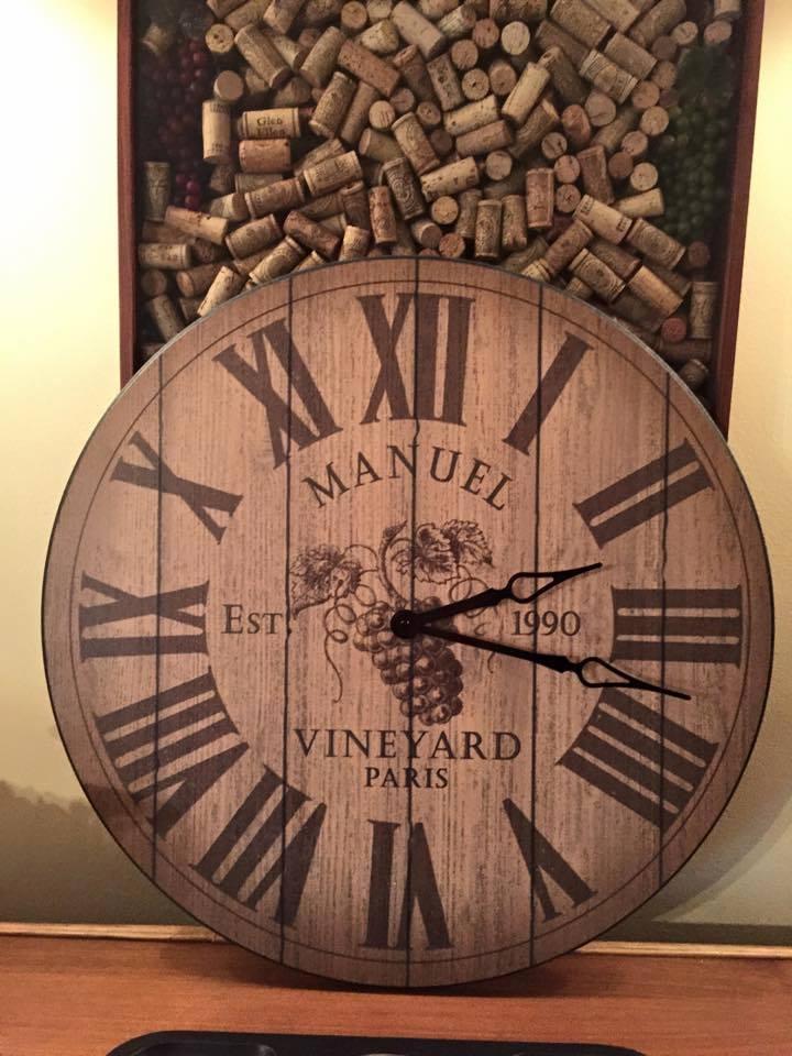 Wine Wall Clock Barrel Wall Clock The Big Clock Store