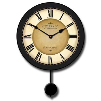 Galway Black Pendulum Clock