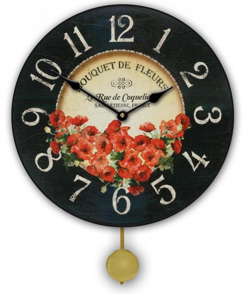 pendulum red pansies