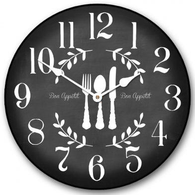 Bon Appetit Black Clock