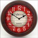 Boston Harbor Red Clock brn frm
