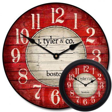 Boston Harbor Red Clock mix