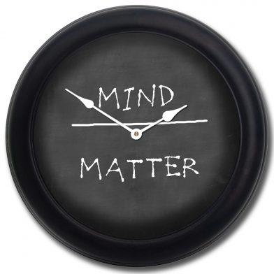 Mind Over Matter blk frm