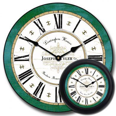 Vermont Green Clock1 mix
