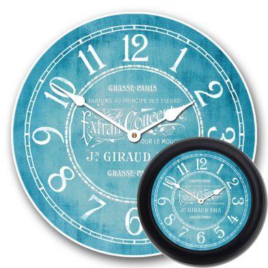 Vintage Parfum Teal Clock mix