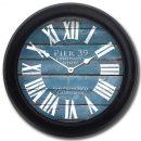 Pier 39 Blue Clock blk frm