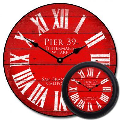 Pier 39 Red Clock mix