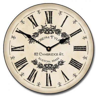 Charmant White Clock