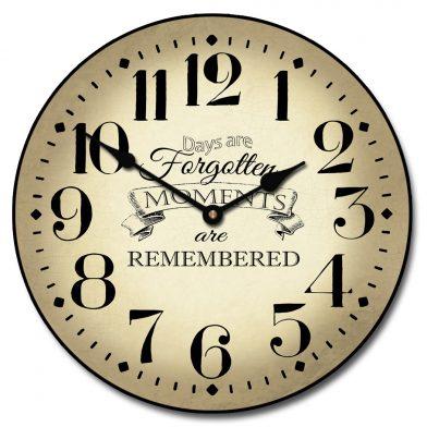 Moments Clock