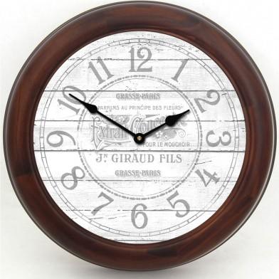 Vintage Parfum White Clock brn frm