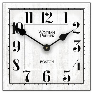 Waytham square white