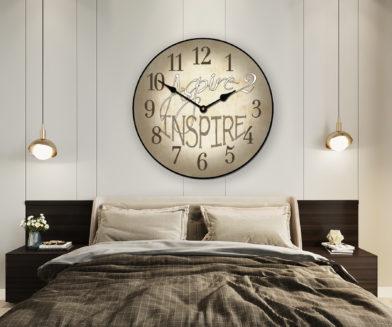 aspire 2 inspire clock in room