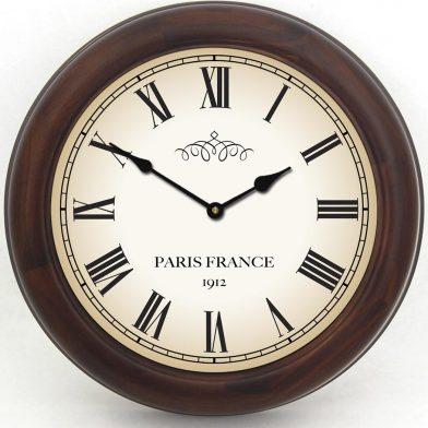 1912 Paris Clock brn frm