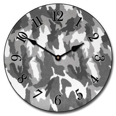 Camo Clock 4