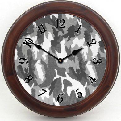 Camo Clock 4 brn frm