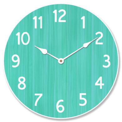 Organic Aqua Clock