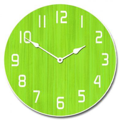 Retro Lime Clock