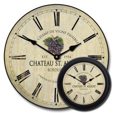 Wine Barrel Lid Clock 3 mix