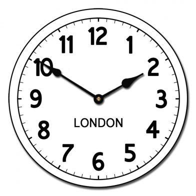 world clock london