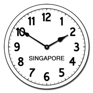 world clock singapore