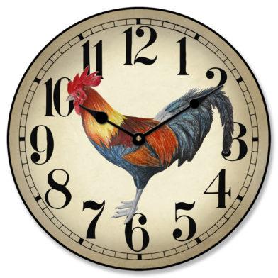 Fancy Rooster Clock