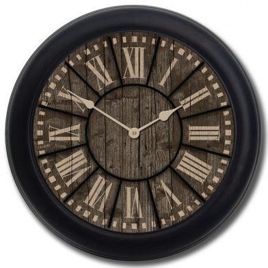 Santa Fe Clock blk frm