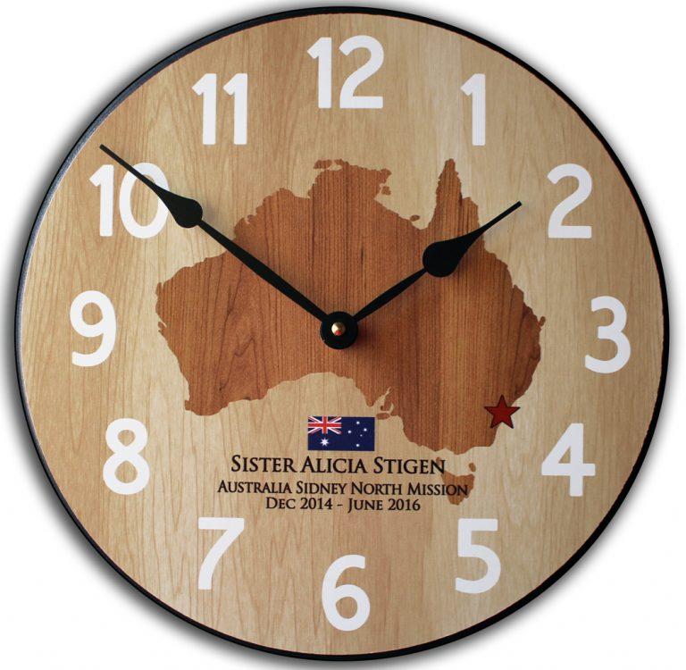 Mission Clock Austrailia
