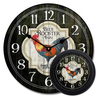 Blue Rooster Inn Clock mix