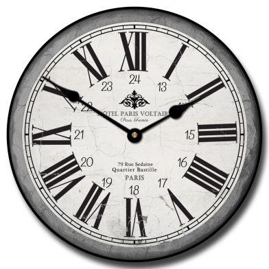 Hotel Paris Voltaire Clock
