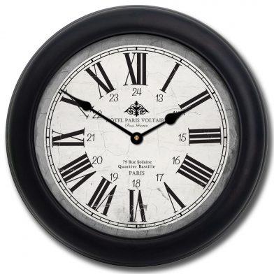 Hotel Paris Voltaire Clock blk frm