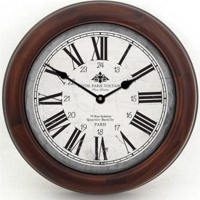 Hotel Paris Voltaire Clock brn frm