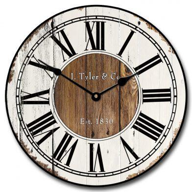 Old Paint Clock