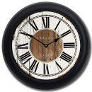 Old Paint Clock blk frm